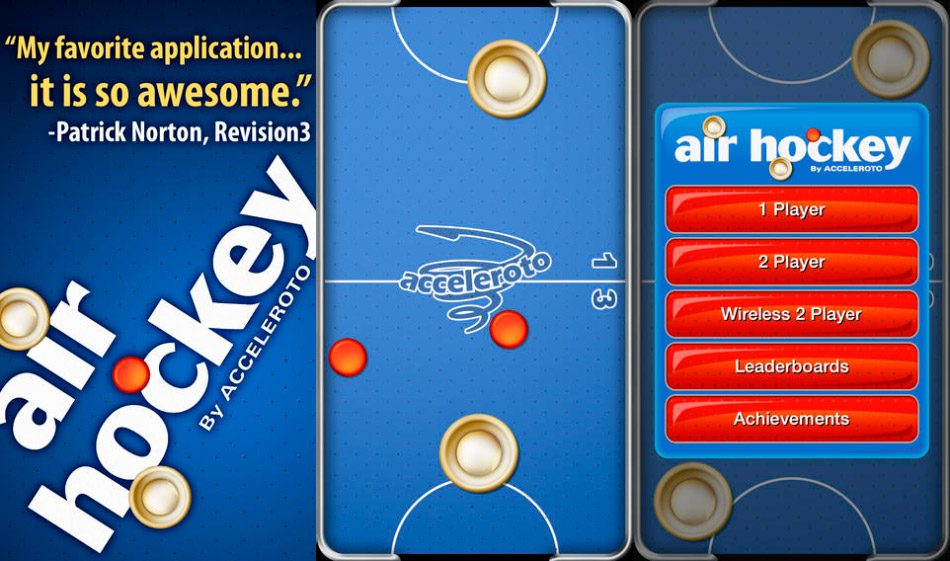 Air Hockey Gold iPhone