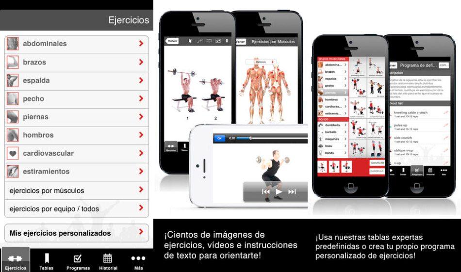 Aplicación para hacer musculación Full Fitness