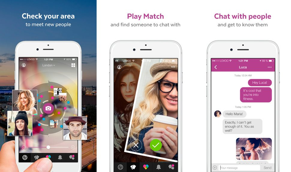 Lovoo en iPhone y iPad