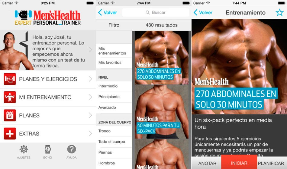 Men's Health Personal Fitness Trainer