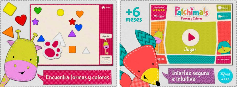 patchimals juego educativo para iphone