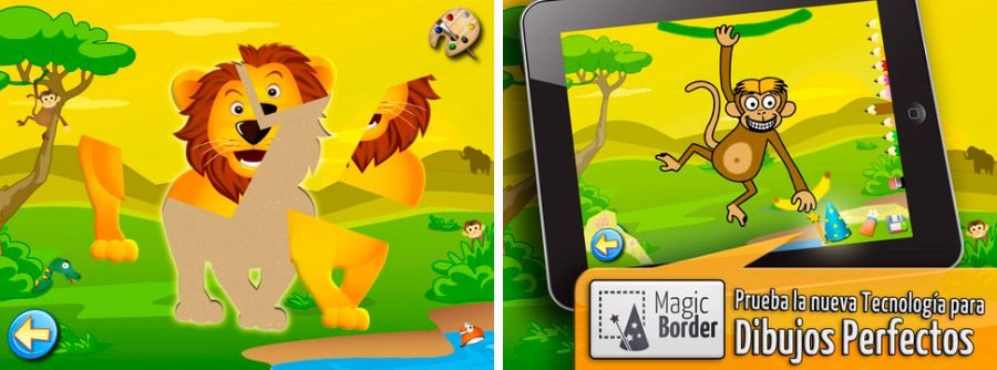 Sabana, puzzle de animales para iPhone/iPad