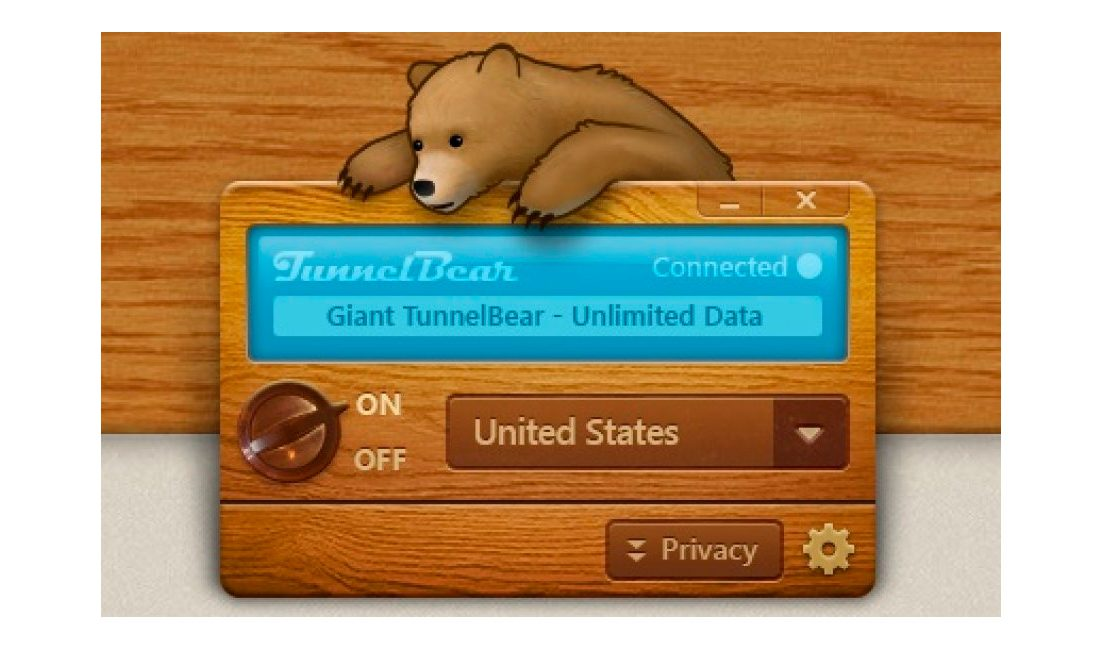 Tunnel Bear para Mac