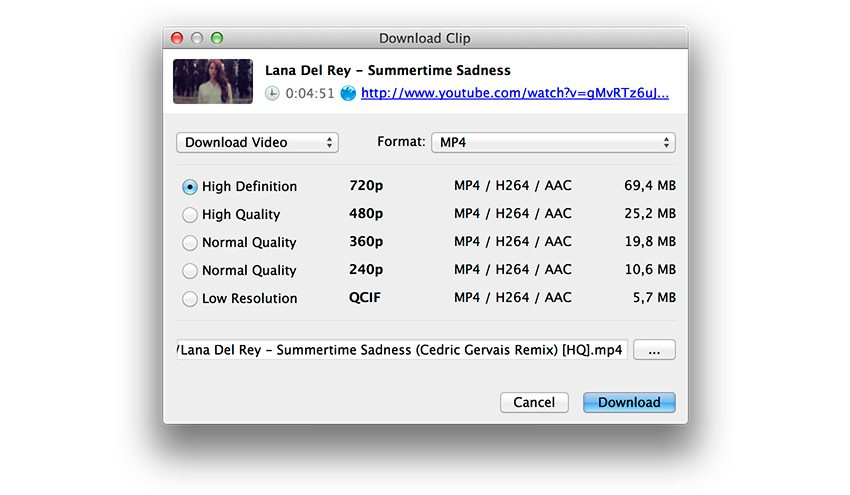 4K Video Downloader para Mac