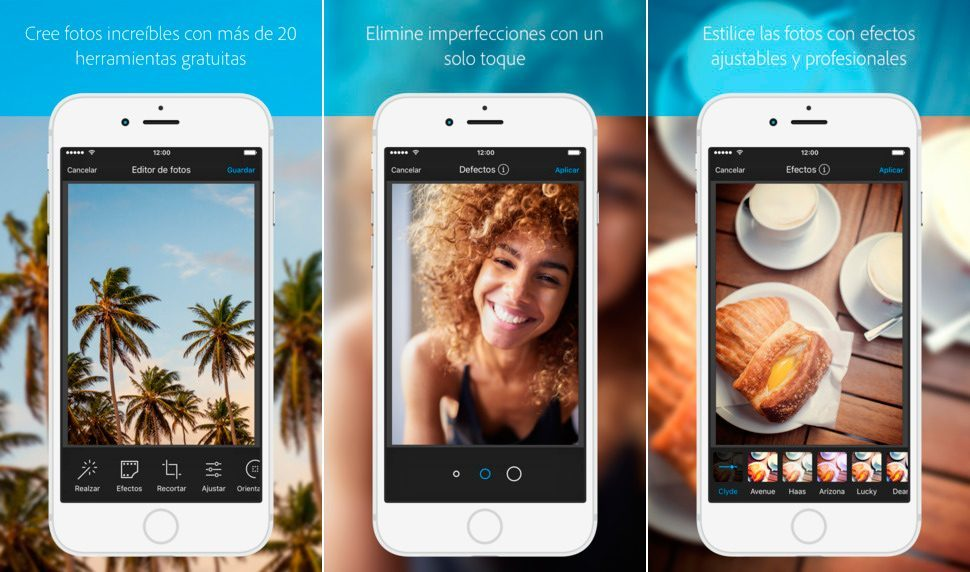 Aplicaciones para iPhone 7: Aviary