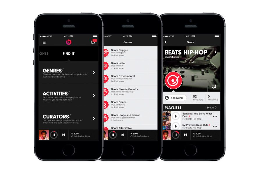 Beats Music para iPhone