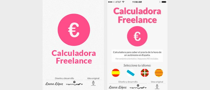 Calculadora Freelance para iPhone