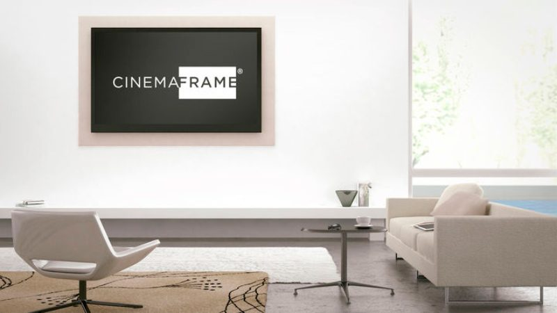 CinemaFrame para Apple TV