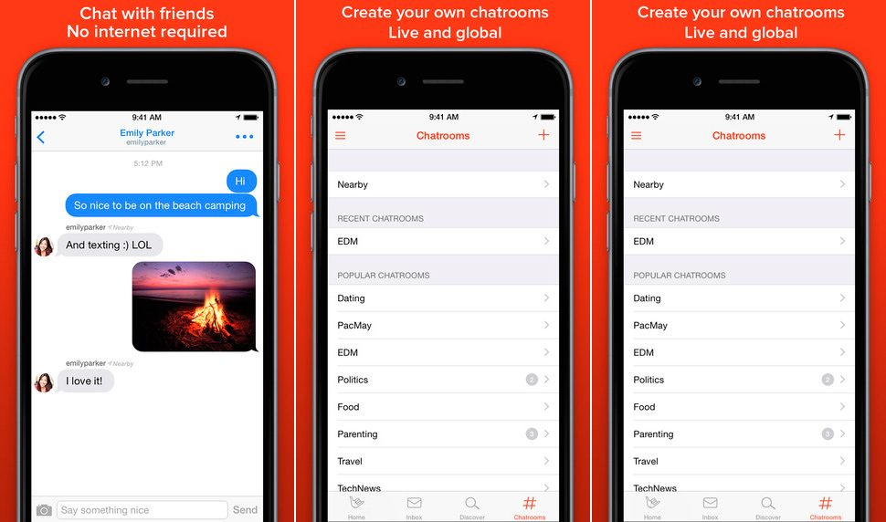 FireChat para iPhone y iPad