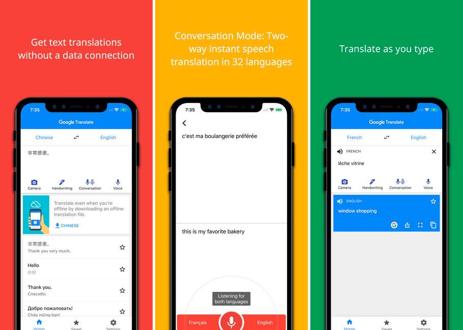 Google Translate para iPhone y iPad