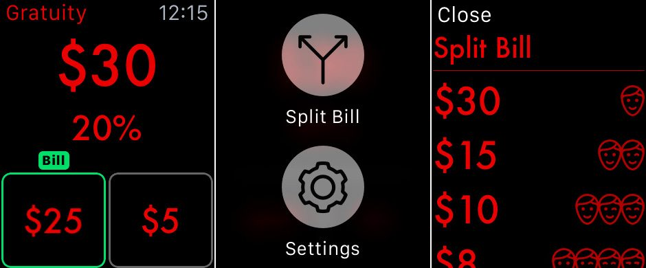 Gratuity para Apple Watch