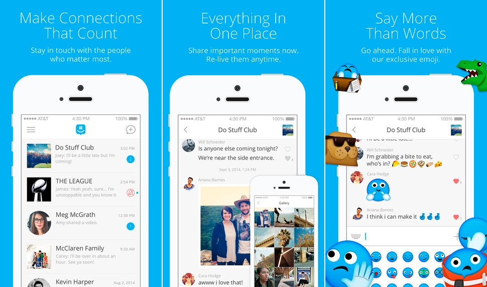 GroupMe para iPhone y iPad