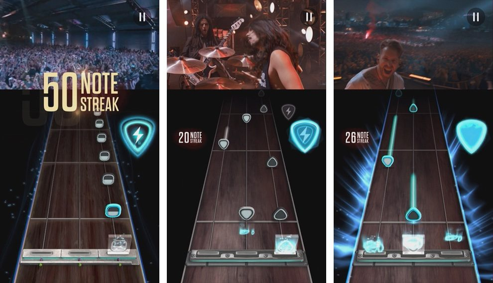 Guitar Hero Live para iPhone
