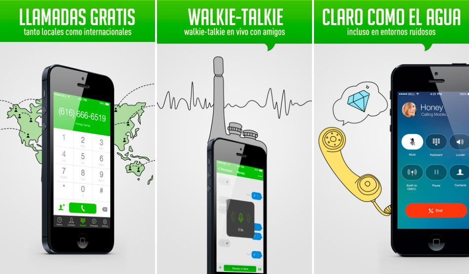 HiTalk en iPhone y iPad