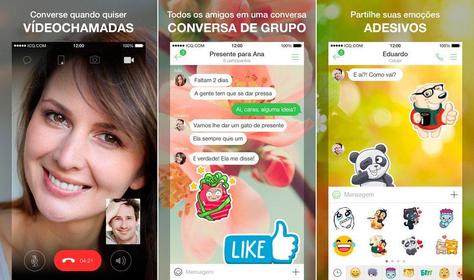 ICQ para iPhone y iPad