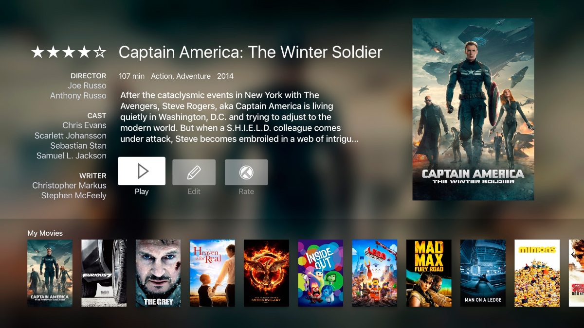 Infuse Pro para Apple TV