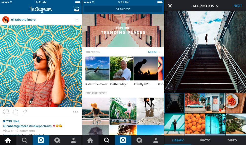Instagram para iphone 6