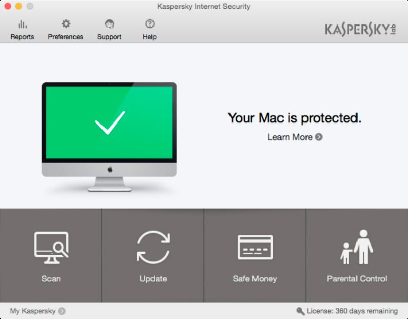 Kaspersky Internet Security para Mac