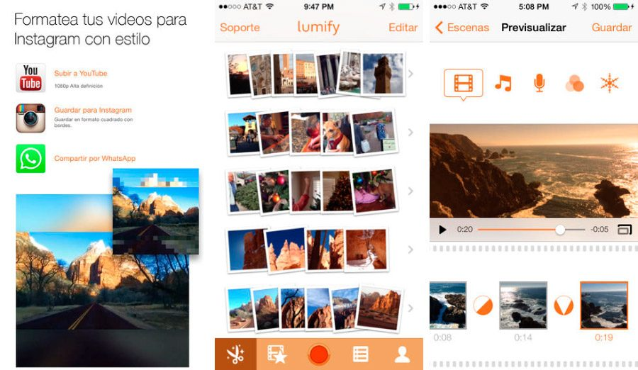 Lumify, app de Instagram para iPhone/iPad