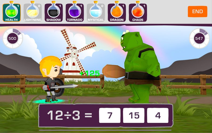 Medieval Math Battle iOS