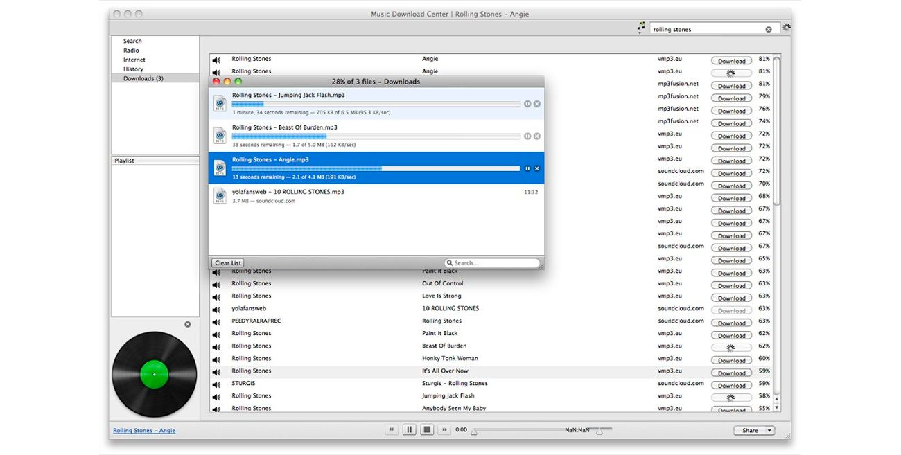 Music Download Center para Mac