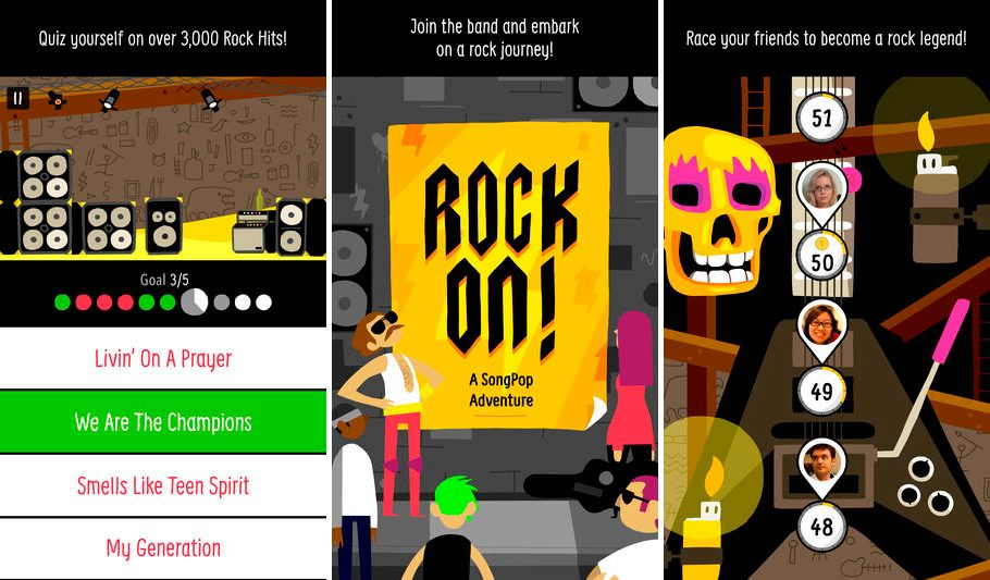 Rock on para iPhone