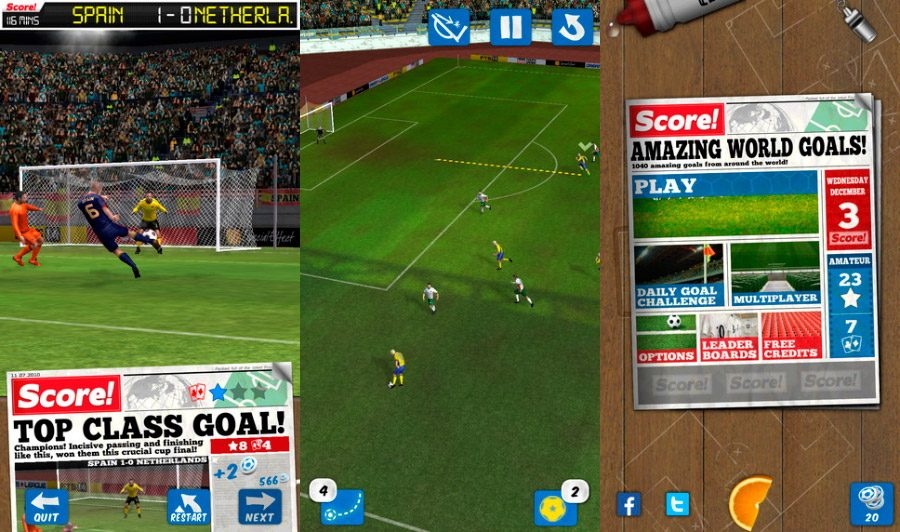 Score! World Goals iOS