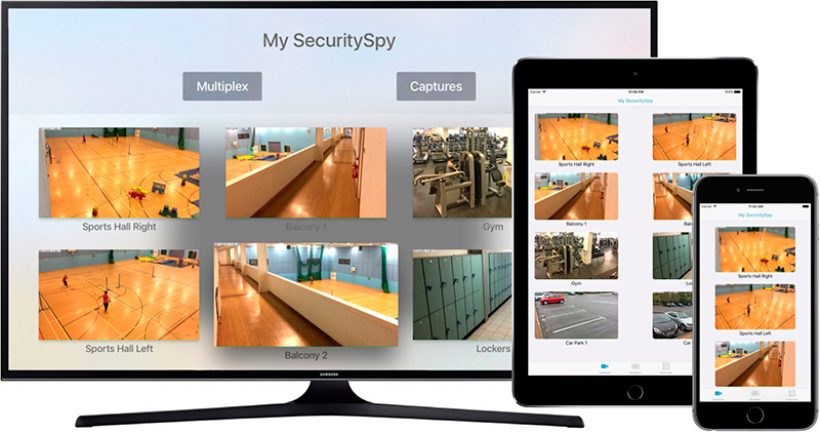 SecuritySpy para Apple TV