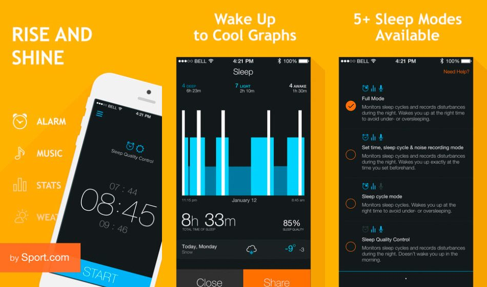 Smart Alarm Clock iPhone