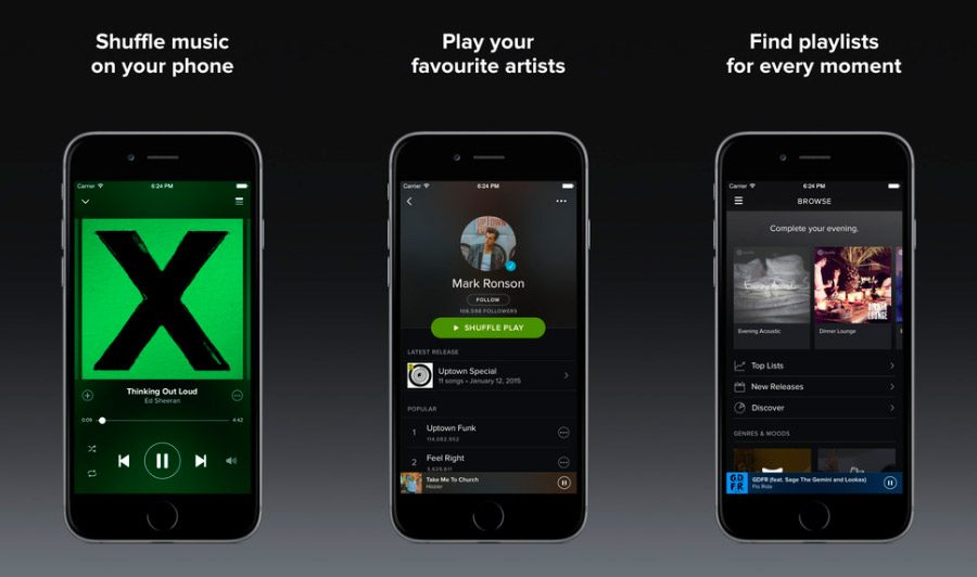 Spotify Music iOS