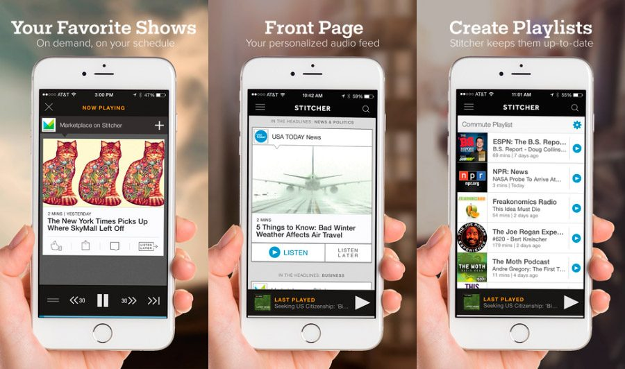 Stitcher Radio iOS