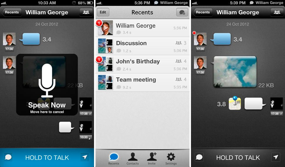 TalkBox en iPhone y iPad