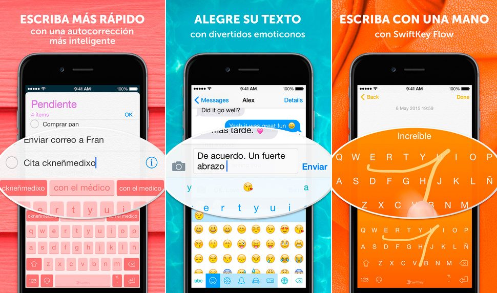 Teclado SwiftKey para iphone 6
