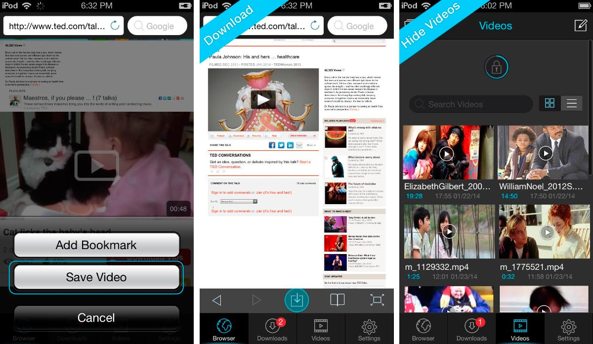 Titan Downloader para iPhone y iPad