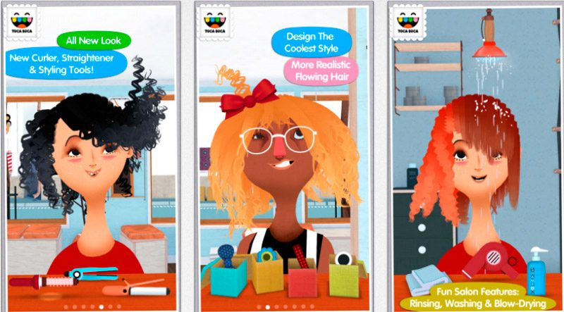Toca Boca Hair Salon 2