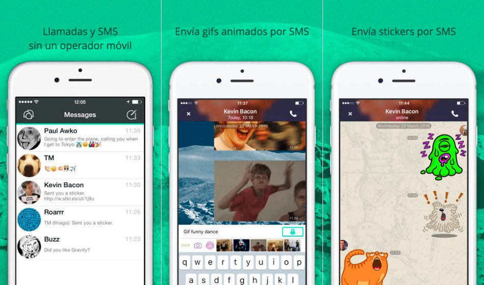 UppTalk en iPhone y iPad