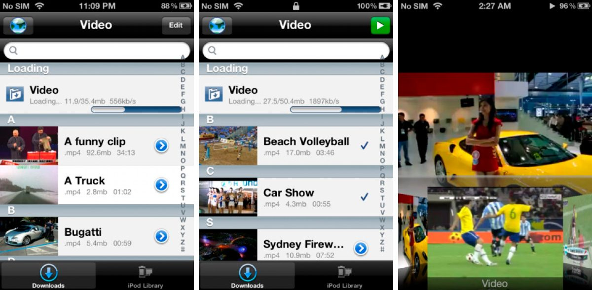 Video Downloader Lite para iPhone y iPad
