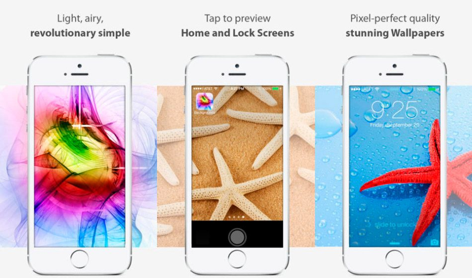 Wallpapers iOS 8 edition