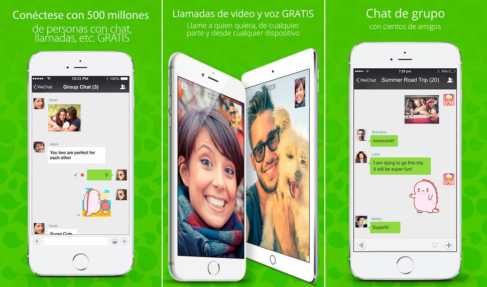 WeChat para iPhone y iPad