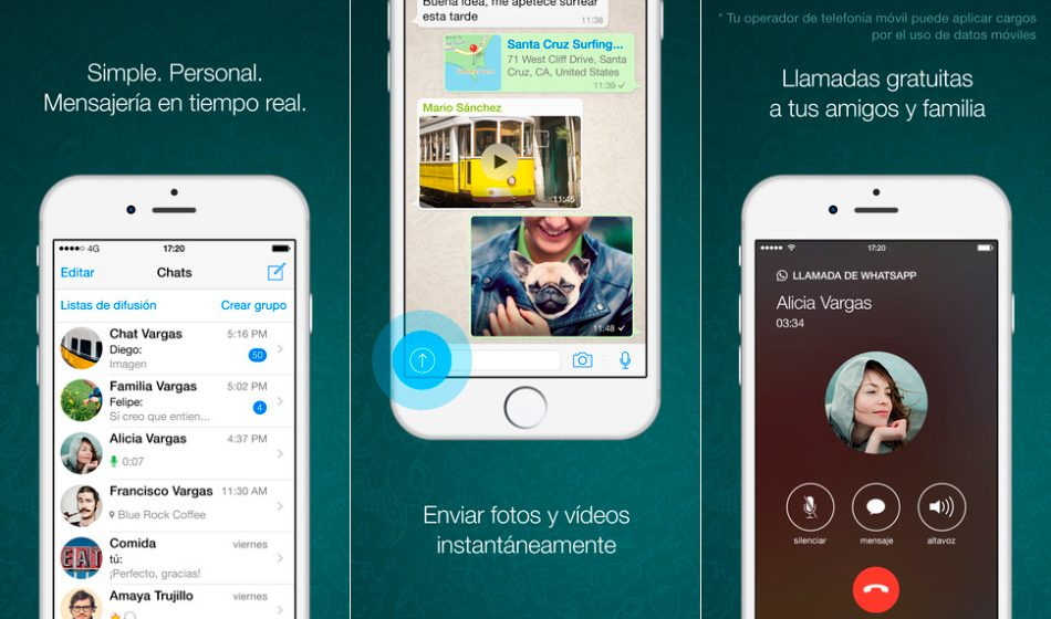 WhatsApp en iPhone y iPad