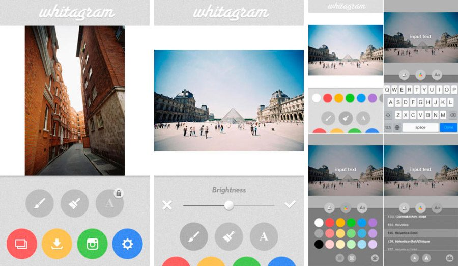 Whitagram, app para Instagram en iOS
