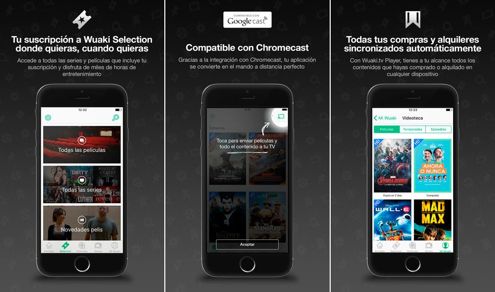 Wuaki.tv en iPhone y iPad
