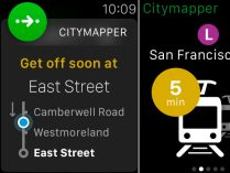 Citymapper para Apple Watch