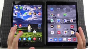 Comparativa iPad mini VS Galaxy Tab S2