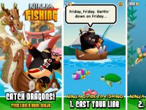 Ninja Fishing iPhone