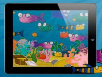 SquiggleFish iPad