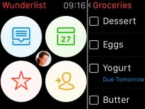 Wunderlist para Apple Watch